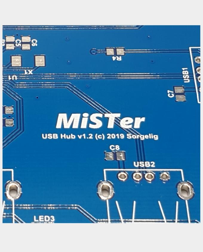 Buy USB Hub For MiSTer Bare PCB