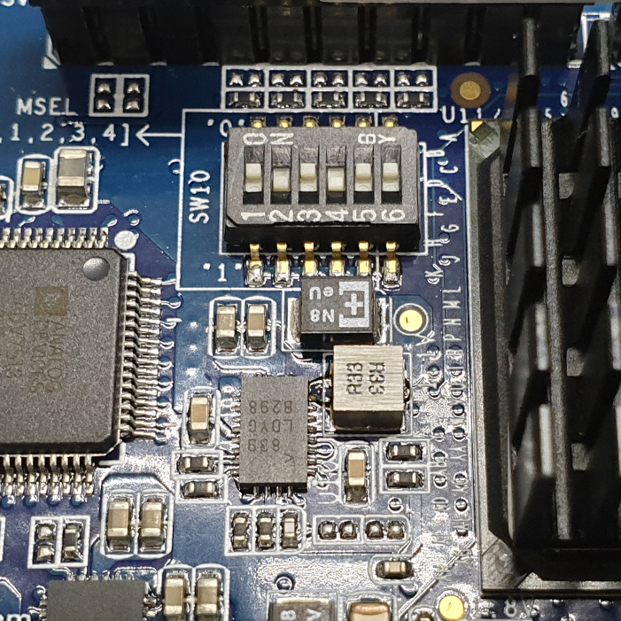 MiSTer Board SW10 Dip Switch Settings