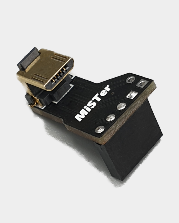 MiSTer Micro USB Hub Connector Board