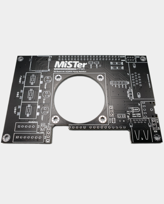 Printed Circuit Board MiSTer FPGA IO Board v6.1