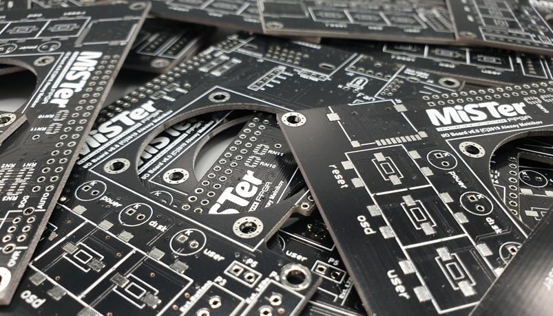 UK MiSTer FPGA IO Board v6 Available Buy Now Online