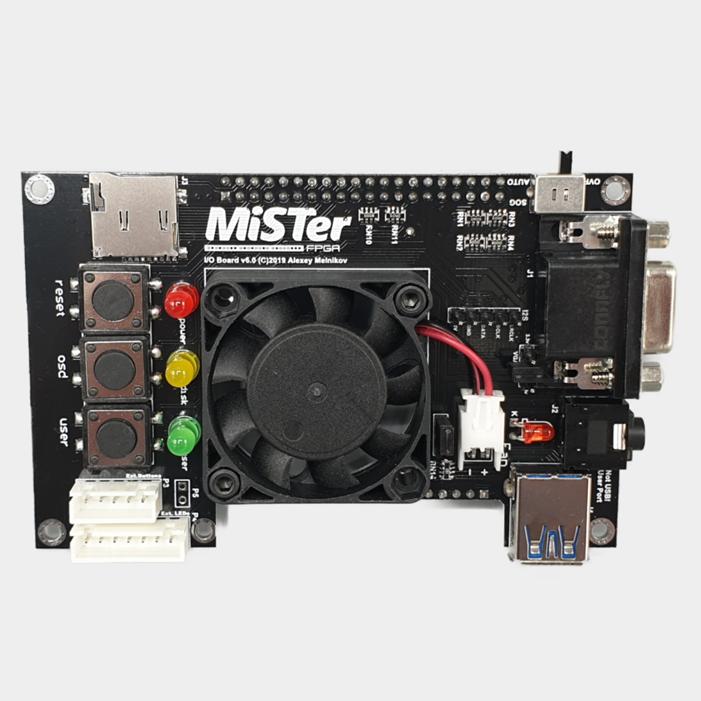 MiSTer FPGA IO Board XL Standard Fan