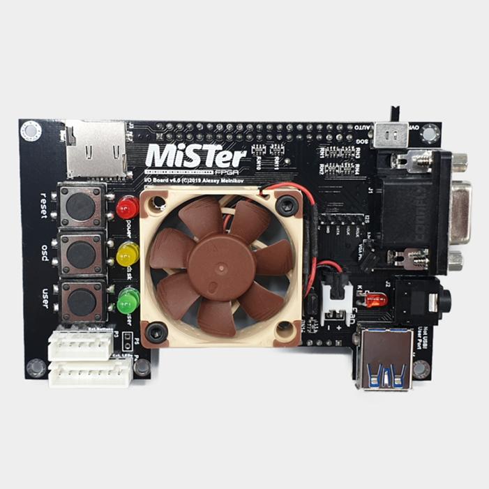 Noctua Fan MiSTer FPGA IO Board