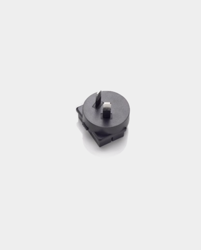 Two Pin Angled Blade Plug Adapter Head