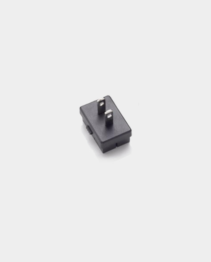 Two Pin Blade Plug Adapter Head