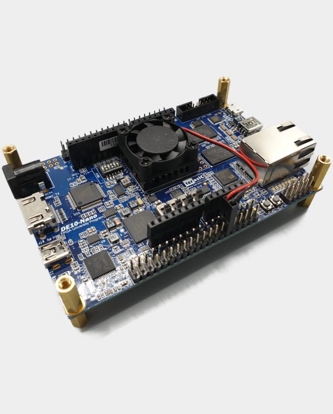 MiSTer FPGA Heatsink Fan Installed