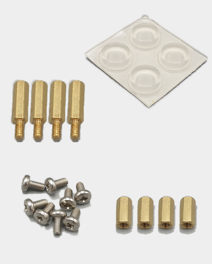 MiSTer Acrylic Plates Fittings Screws