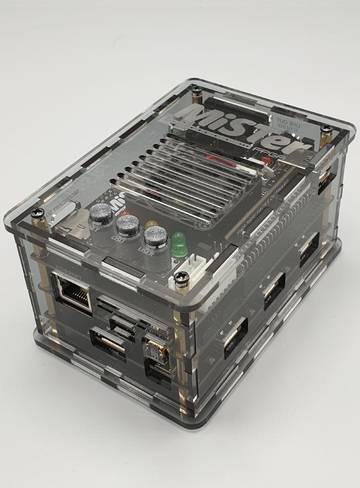 MiSTer FPGA Acrylic Case