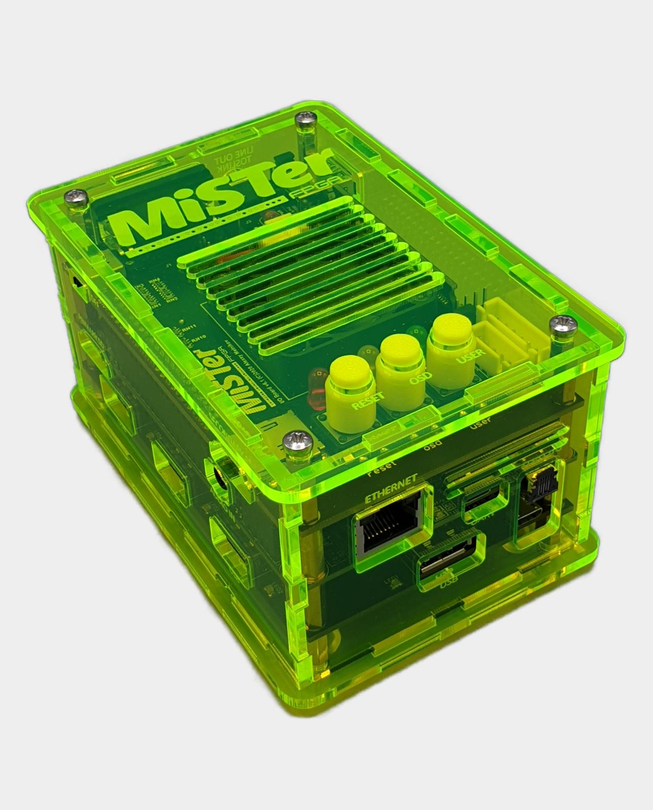 MiSTer FPGA Case Acrylic