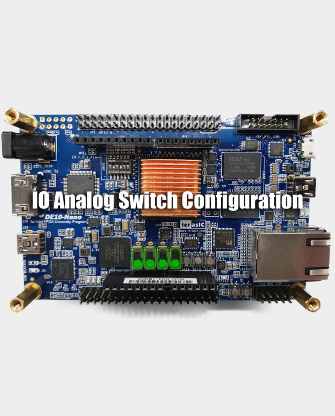 MiSTer IO Board DE10 Nano Switch Configuration