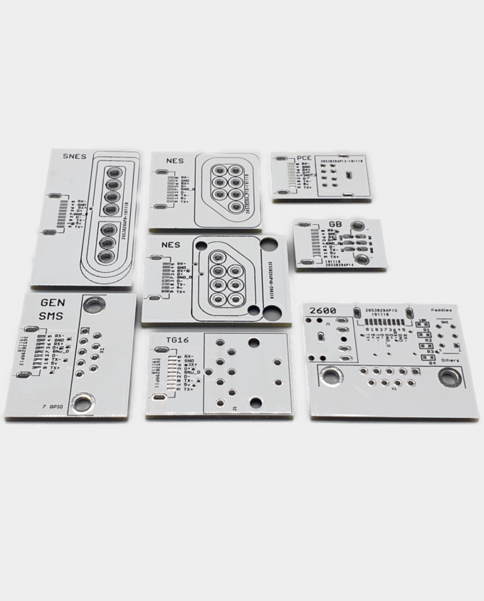MiSTer SNAC Adapter PCB Printed Circuit Board Set