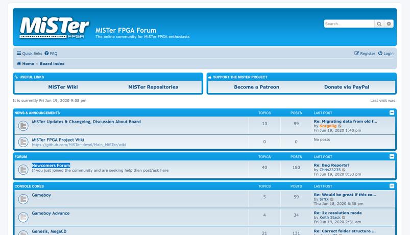 MiSTerFPGA.org Forum